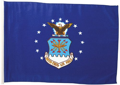 Air Force Flag 18 in