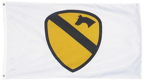 1st Cavalry 3 ft x 5 ft Flag