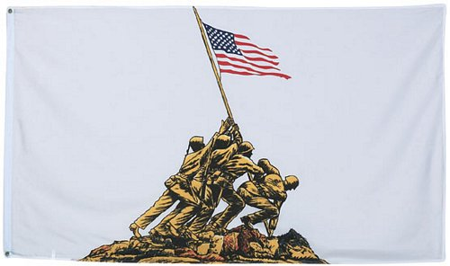IWO JIMA Flag 3 ft x 5 ft