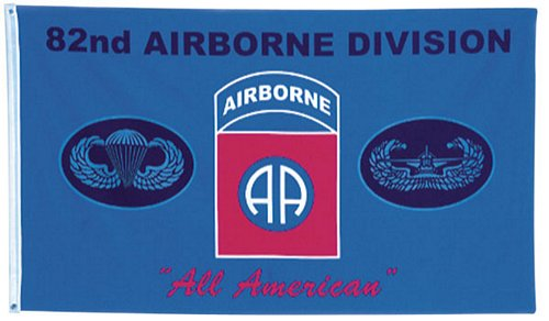82nd Airborne All American Flag 3 ft x 5 ft