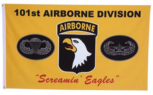 101st Airborne Screaming Eagle Flag 3 ft x 5 ft
