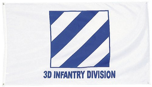 3D Infantry Division Flag 3 ft x 5 ft