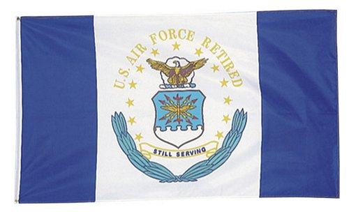 U.S. Air Force Retired 3 ft x 5 ft Flag