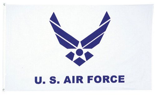 U.S. Air Force New Emblem 3 ft x 5 ft Flag