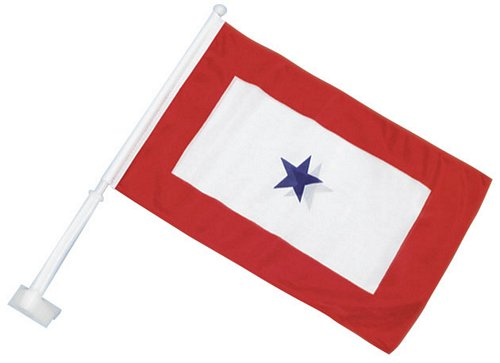 Blue Star Service Car Flag
