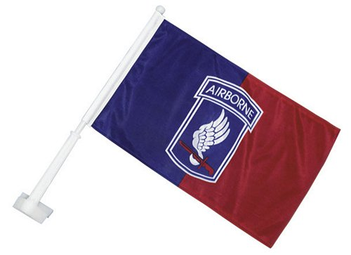 173rd Airborne Car Flag