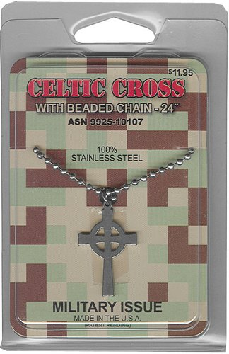 Celtic Cross GI Jewelry