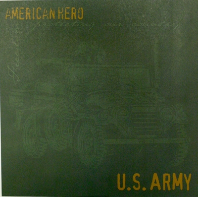 Paper, Army Icon