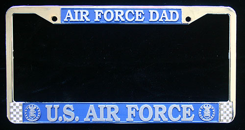 License Frame, Air Force Dad