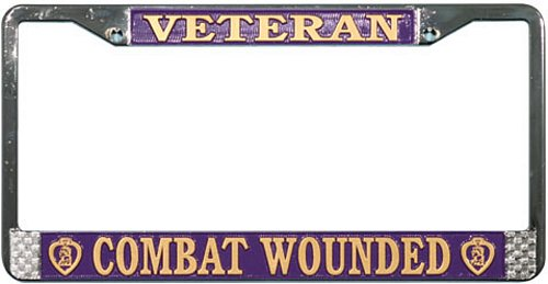 License Frame, Combat Wounded