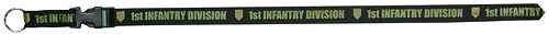 1st Infantry Div. - Big Red One - Lanyard (Silk Screened)