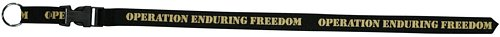 Operation Enduring Freedom Silk Screened Lanyard