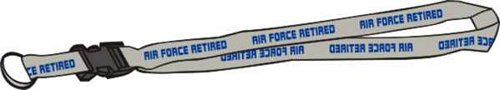 Air Force Retired Lanyard