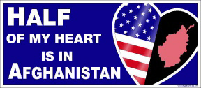 Magnet, Small, Heart in Afghanistan