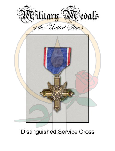 Medal Card, Distinguished Service Cross