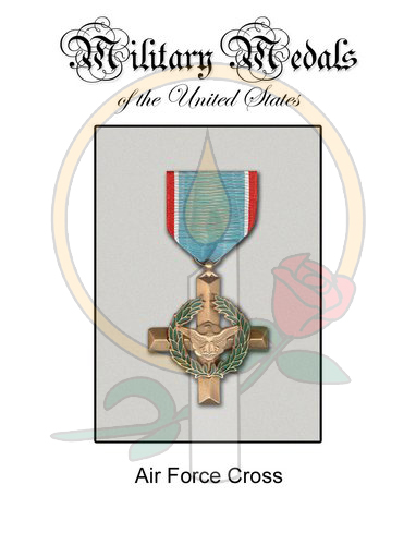 Medal Card, Air Force Cross