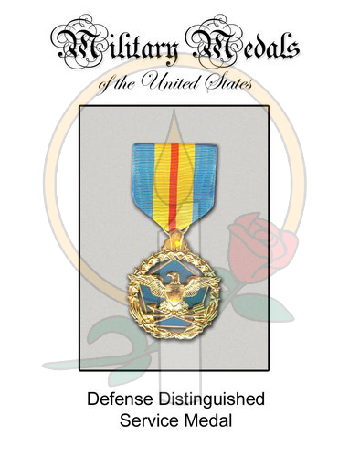 Medal Card, Defense Distinguished Service
