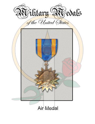 Medal Card, Air Medal
