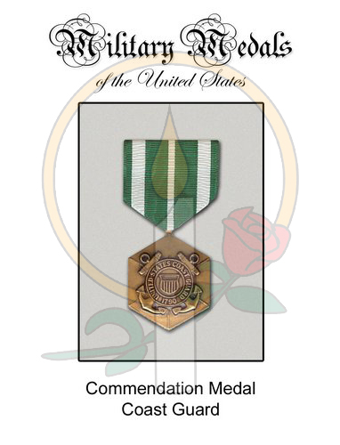 Medal Card, Commendation - CG
