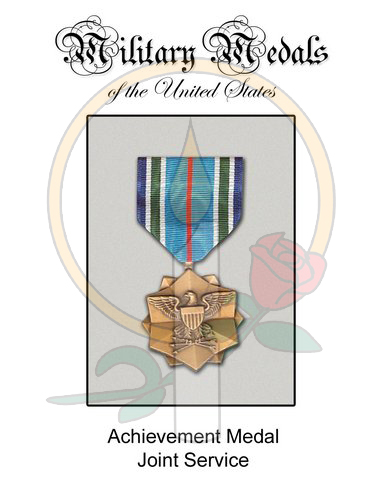 Medal Card, Achievement Joint Service