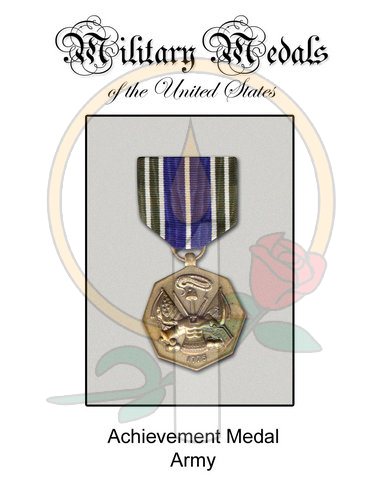 Medal Card, Achievement Army