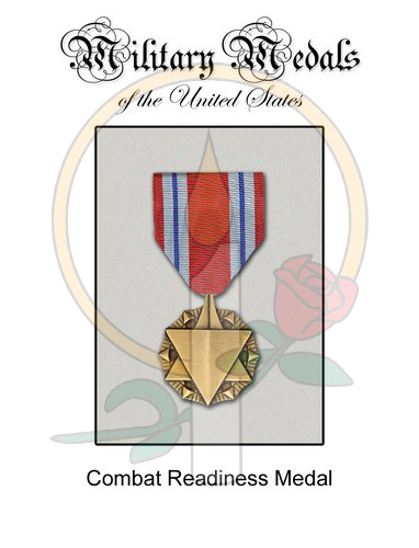 Medal Card, Combat Readiness