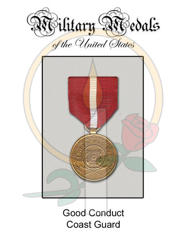 Medal Card, Good Conduct CG