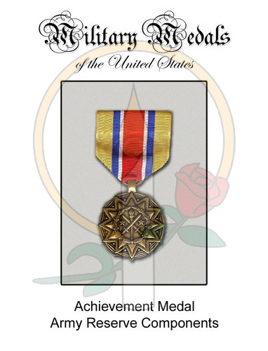 Medal Card, Achievement Army Reserve