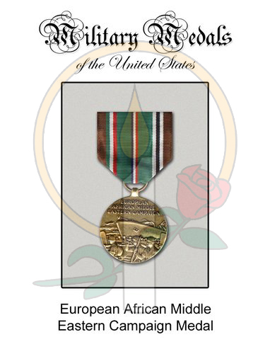 Medal Card, European Africa Middle East Campaign