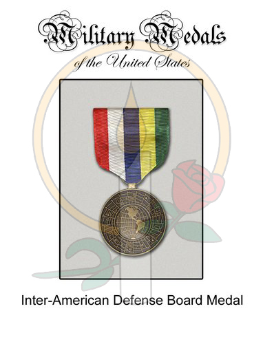 Medal Card, Inter-American Defense Board