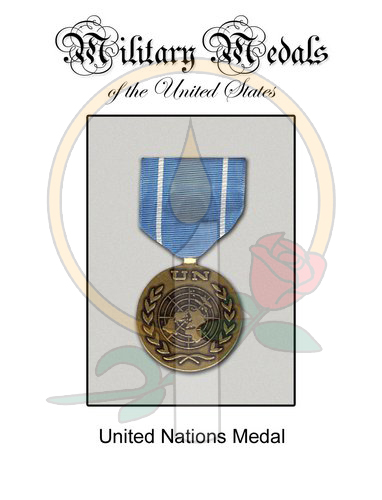 Medal Card, United Nations