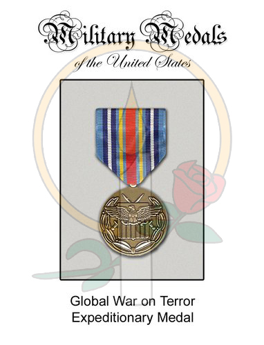 Medal Card, Global War on Terror Epeditionary