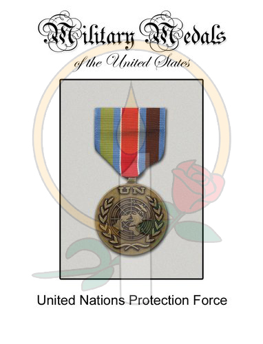 Medal Card, UN Protection Force