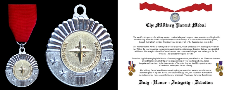 Military Parent Medal