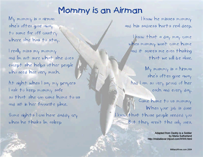Mommy is an Airman Print