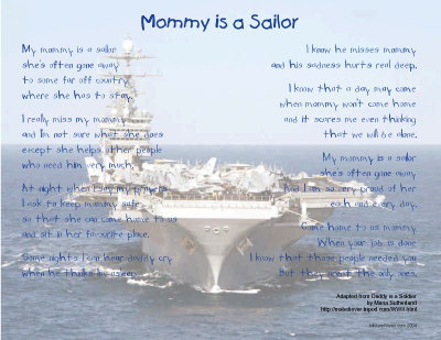 Mommy is a Sailor Print