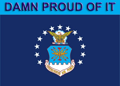 AF Flag, Damn Proud of it