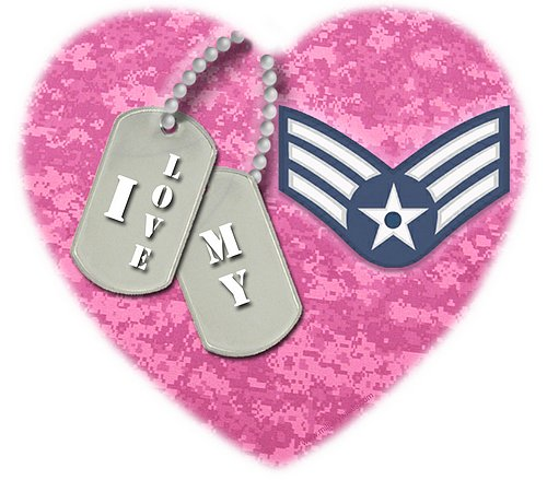 I love my Senior Airman (E4)