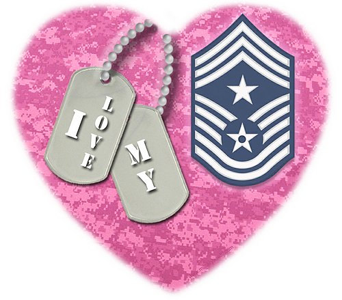 I love my Cmd Chief Master Sgt (E9)