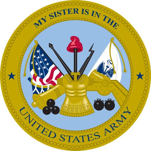 Army, Sister is in