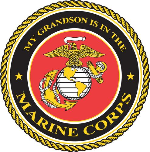 Marine, Grandson is in