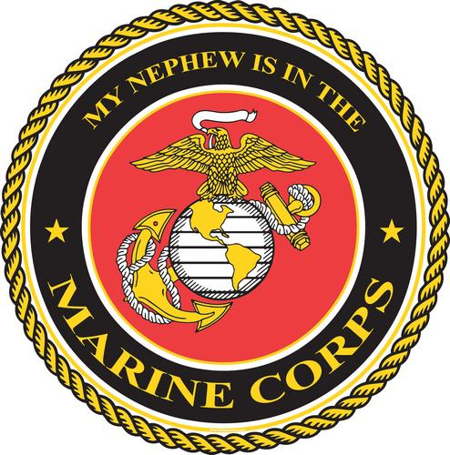 Marine, Nephew is in