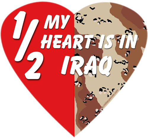 Half My Heart, Iraq