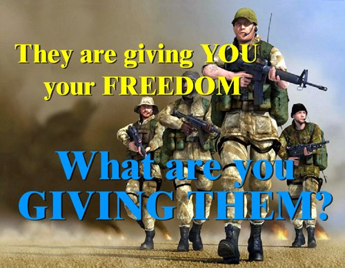 Giving You Your Freedom - Infantry