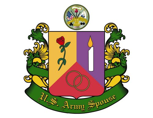 Print, US Army Spouse