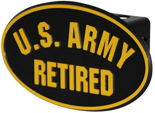 U.S. Army Retired Hitch Cover