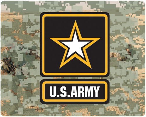 Army Star Logo Mouse Pad
