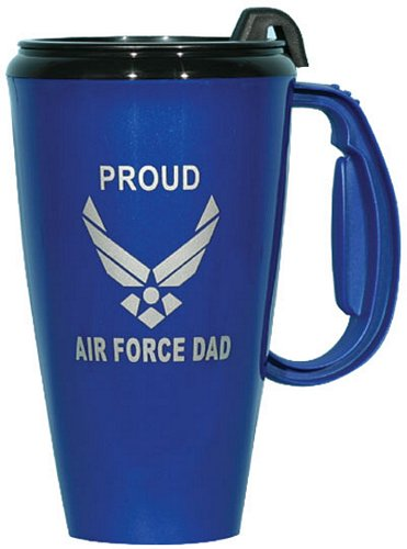 Proud Air Force DAD Travel Mug