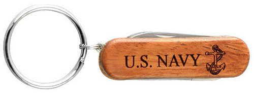 U.S. Navy w/ Anchor Key Ring Pocket Knife