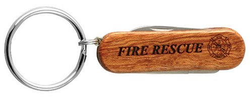Fire Rescue Key Ring Pocket Knife